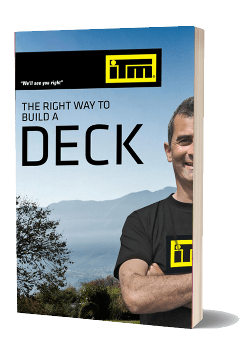 Download the guide to the right way to build a deck