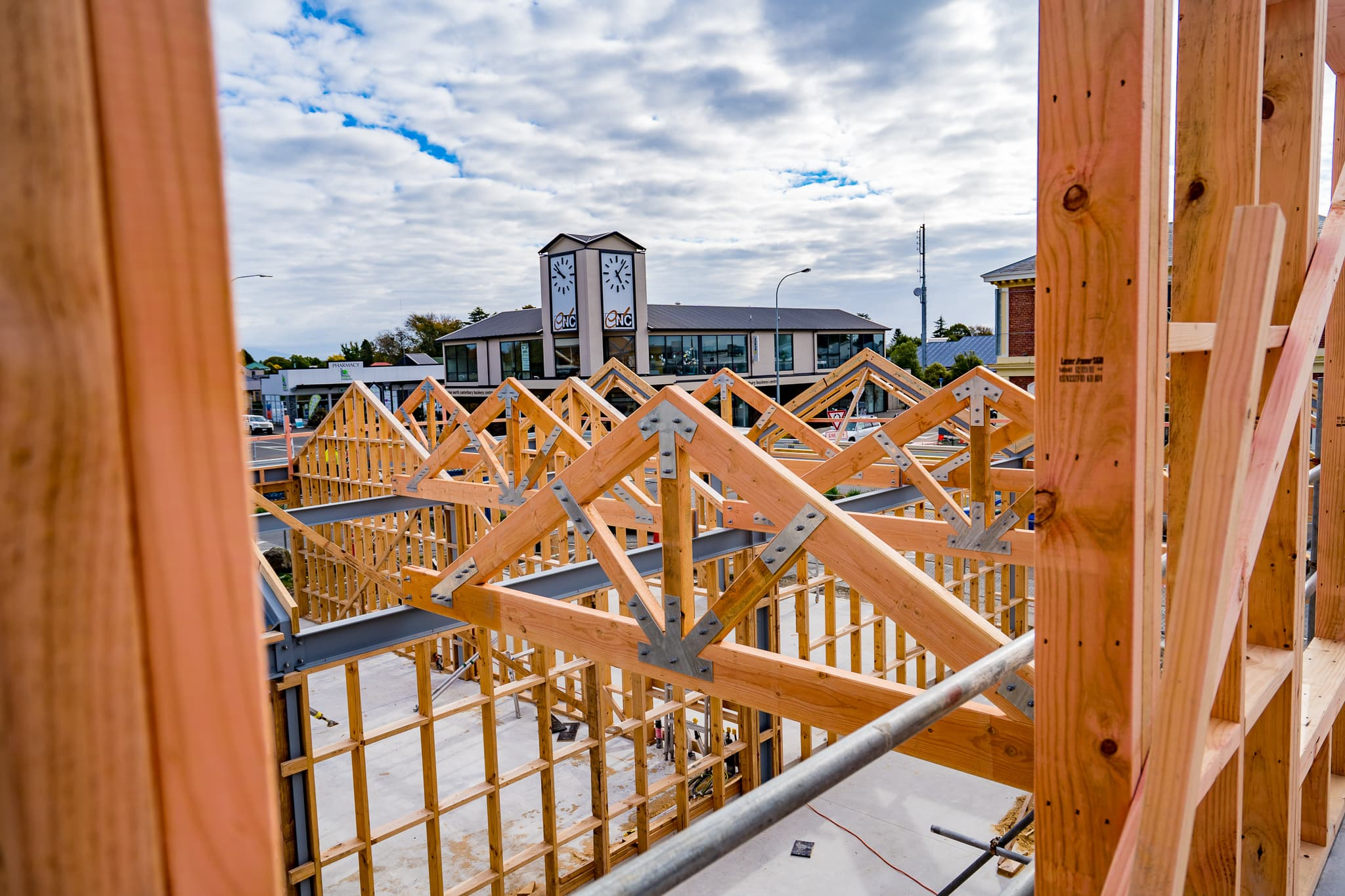 Dyers Road ITM teams up with VIP Frames & Trusses to bring you a great prenail frame & truss service in Canterbury